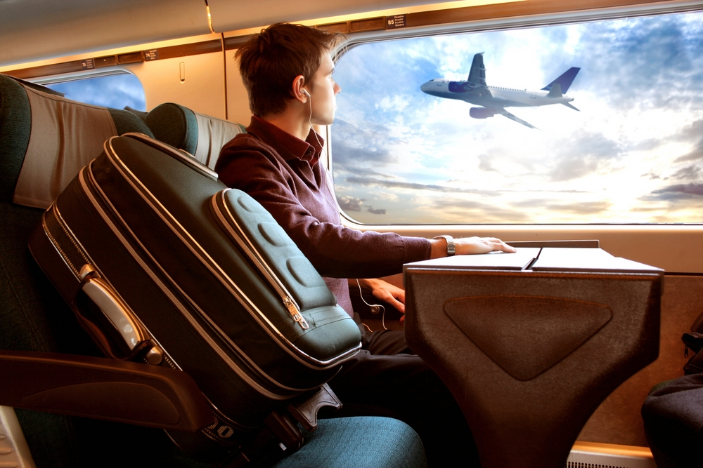 European public opinion poll show support for shifting flights to rail